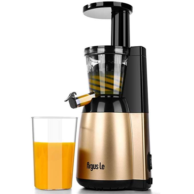 Argus Le Slow Masticating Juicer Extractor With Quiet Motor Easy Cleaning Compact Design Cold Press Juicer For High Nutrient Fruits And Vegetables Review Cold Press Juicer Juicer Masticating Juicers