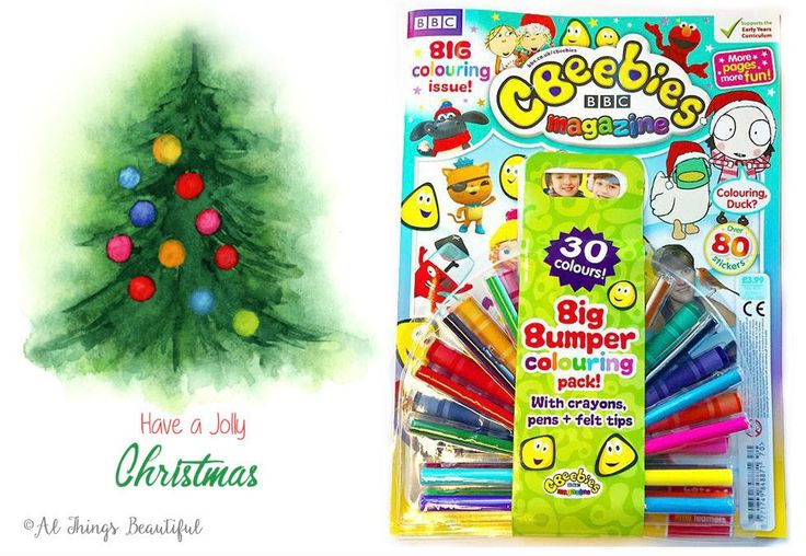Cbeebies Magazine Review! Big Bumper Colouring Pack