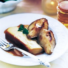 Maple Crème Flan with Maple-Glazed Pears | Favorite Recipes ...