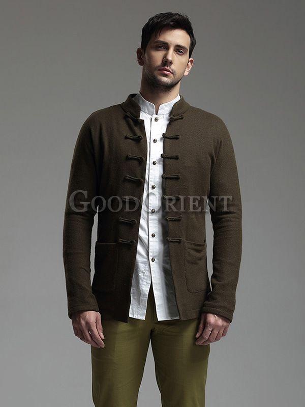 """""""Chinese Dragon"""" Series Men's Wool Jacket"""