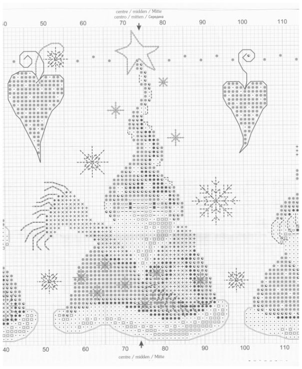 Cross-stitch Santa Gnomes, part 4... color chart on part 2... Gallery.ru / Фото #39 - 204 - markisa81