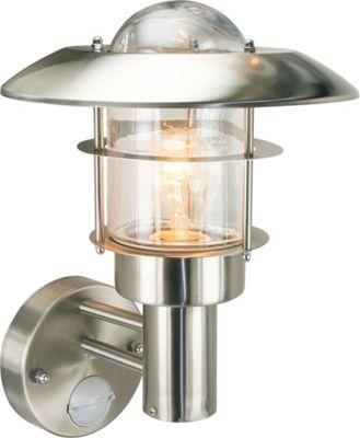 Kelsie - Security Light PIR - Stainless Steel Homebase Lighting Pinterest Steel, Lights ...