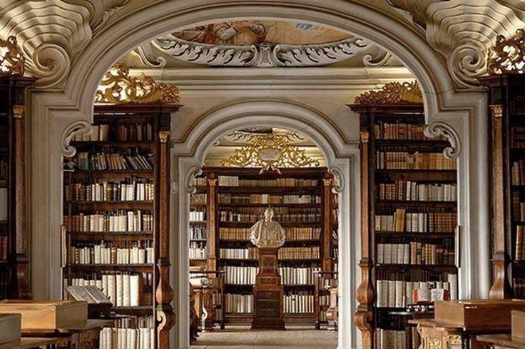 Kremsmünster Abbey Library (Austria) #libraries