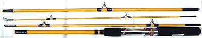 EAGLE CLAW 7'6 BASS PRO PACK-IT SERIES SPIN/FLY PACK ROD PK601-7'6 CLAM PACK