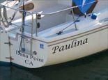 Vinyl Lettering Company - Boat Lettering. DoItYourselfLettering.com.