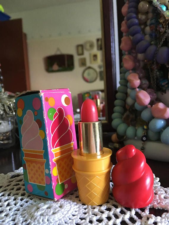 Retro 70's Avon Cherry Ice Cream Lipstick