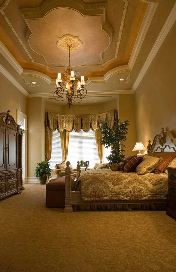 795 best tuscan mediterranean decorating ideas images on for High ceiling bedroom decorating ideas