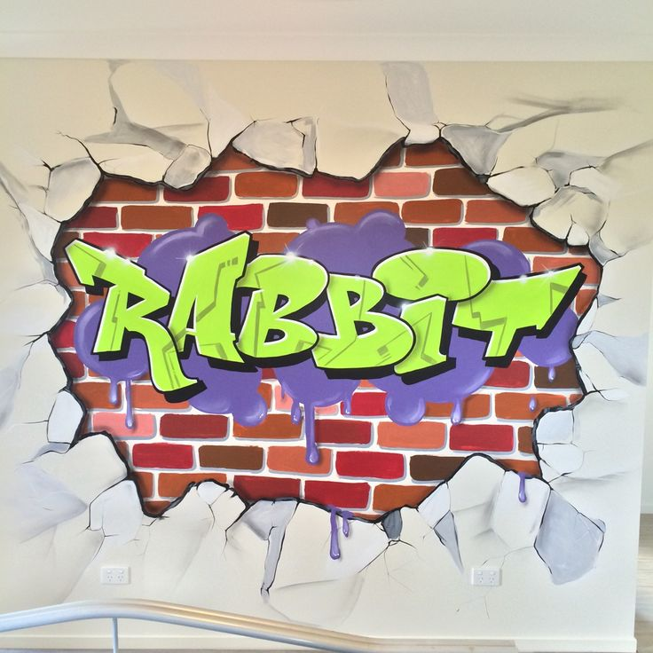 Personalise your space with some added colour. #aerosolart #mural #interiordesign #bedroom