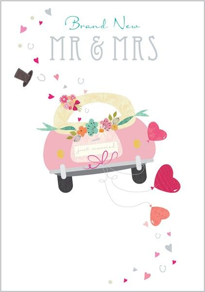 Card Ranges » 6660 » Wedding Car - Abacus Cards - Greetings Cards, Gift Wrap & Stationery