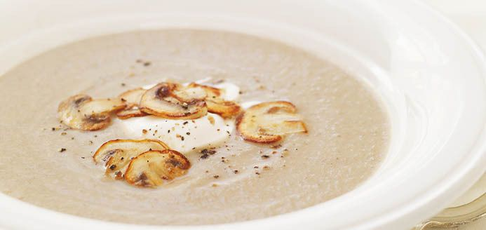 Cream of Mushroom Soup  Recipes | Ricardo