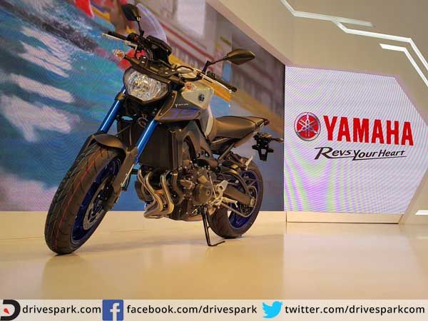 Yamaha MT-09 Lands In India Looking For A Street Fight With Triumph  #AutoExpo2016 #Yamaha #Triumph