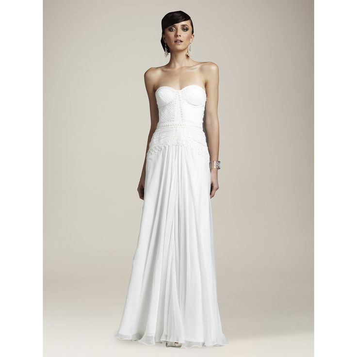 AIDA Wedding Dress - WHITE COLLECTION – Roman & French - Leader in Bridal Jewellery, Hair Accessories and Wedding Gifts.