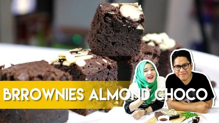 Resep dan Cara Membuat Brownies Almond Choco - Dapur Adis