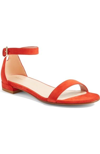 Stuart Weitzman Nudistflat Sandal (Women) available at #Nordstrom