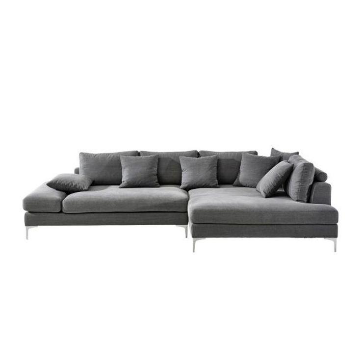 die besten 25 ecksofa grau ideen auf pinterest ecksofa design graues sofa design und ecksofa. Black Bedroom Furniture Sets. Home Design Ideas