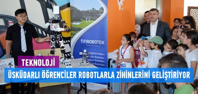 Üsküdar Belediye Başkanı Hilmi Türkmen, Üsküdar Robot ve Teknoloji Araştırmaları Merkezi'nin (ÜROTAM) gerçekleştirmiş olduğu RoboKids etkinliğine katılarak öğrencilerin heyecanını paylaştı.
