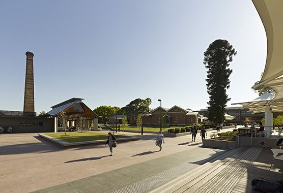 University of Western Sydney, Parramatta Campus // Taylor Brammer Landscape Architects