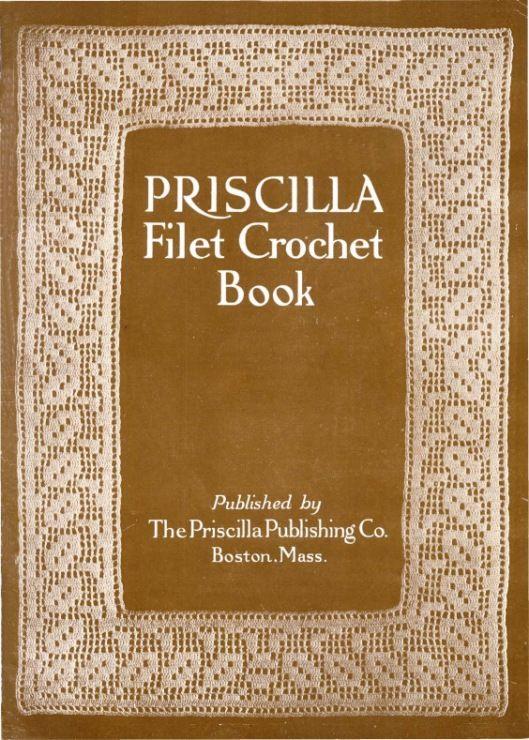 Gallery.ru / Фото #1 - Priscilla Filet Croshet Book: A collection of Beautiful Desi - irinask