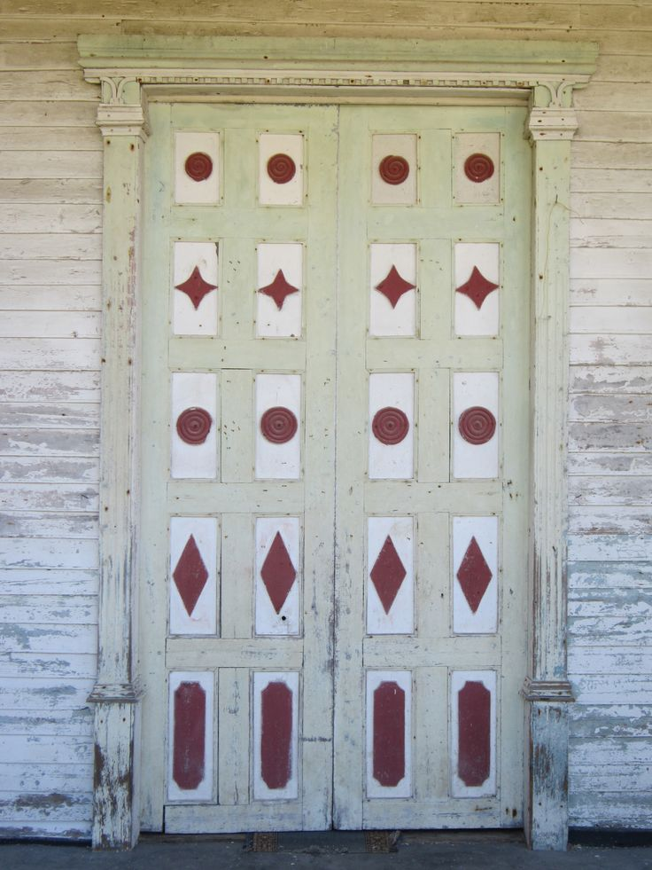 Fabulous old church door, Chiloe