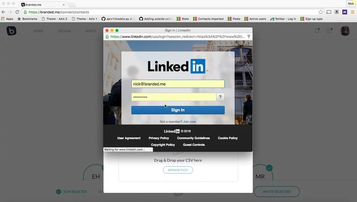 Quick video on how to import your existing LinkedIn contacts