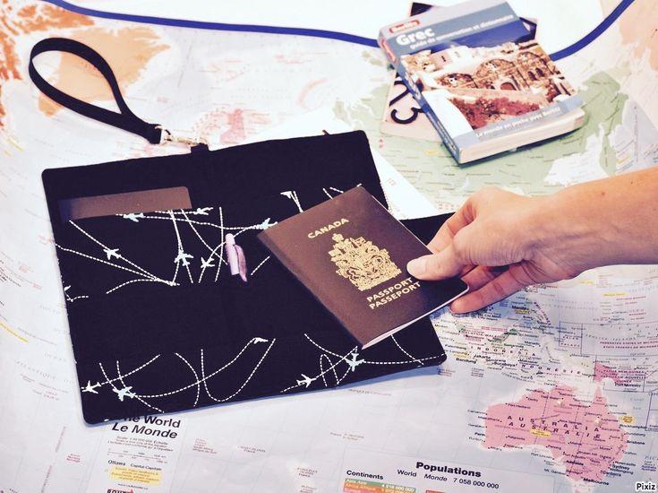 Un étui à passeport familial Filabil inspiré de BB Jetlag