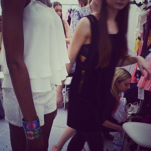 Backstage Fiasco featuring Amazonian nights in London @FLOR AMAZONA #floramazona #jewellery #jewelry #fashion #model #girl #backstage #catwal...