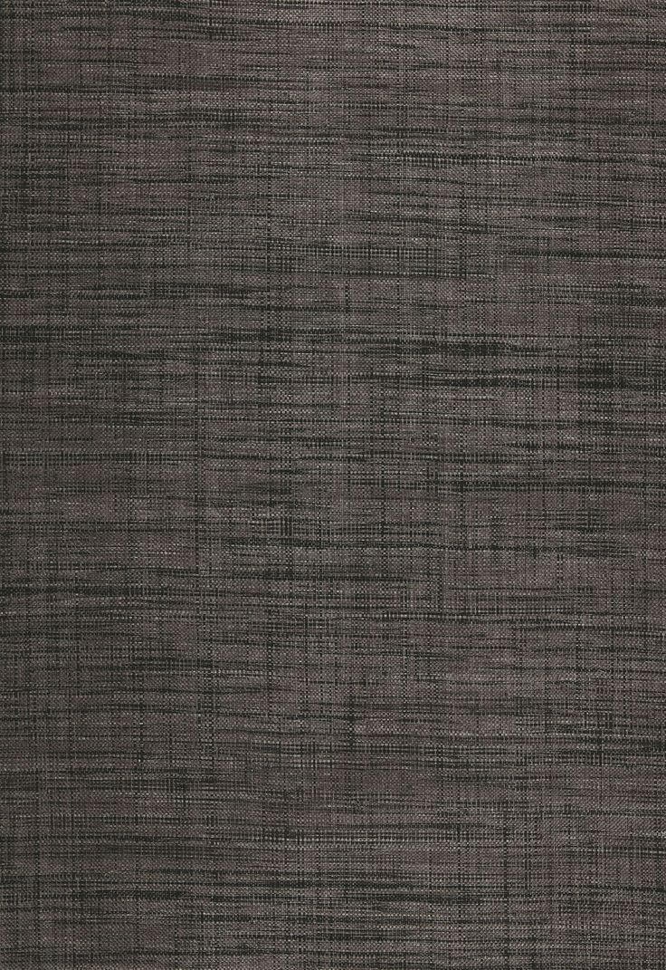 Wallcovering wallpaper weston raffia weave in charcoal for Schumacher chenonceau charcoal wallpaper