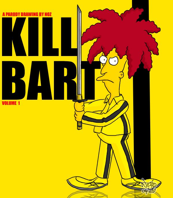 Kill Bill | Kill Bill You! Be Inspired! – The Simpsons Parodies vdohnovlenie