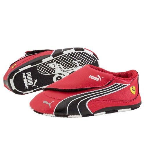 Drift Cat 4 Scuderia Ferrari infant #ferrari #ferraristore #shoes #footwear #driftcat #puma #red #black #scuderiaferrari #cavallinorampante #prancinghorse #kids #infant
