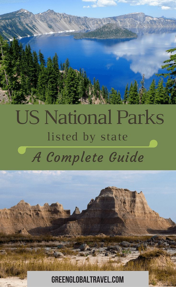 list of national parks by state: an epic guide to the nps | travel