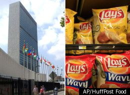 """The United Nations is in favor of a tax on junk food. I think one of the most important points of the article was the UN's claim that by selling fattening foods at cheap prices, western cultures are """"letting the food industry create an environment that makes citizens unhealthy"""" which """"constitutes a violation of human rights."""" Very interesting."""