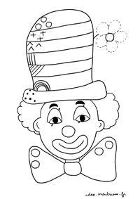 Graphismes autour du carnaval et du clown pour MS