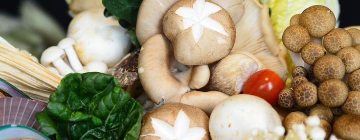 Wild about Mushrooms! Highlighting 8 types of mushrooms: Button, Chinese, Enoki, Nameko, Oyster, Shiitake, Shimeiji and Straw, complemented with wholesome soup bases of your choice! Available at the Steamboat dinner at The Buffet - M Hotel Singapore.