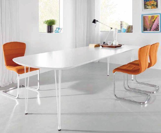Las 25 mejores ideas sobre mesa ovalada en pinterest for Mesas cocina comedor extensibles