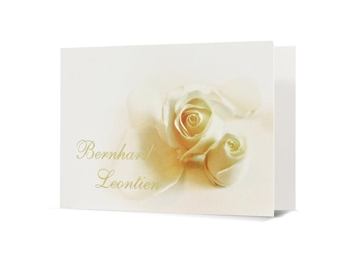 97.1512 T Bedankkaart met gele rozen - Trouwkaarten.Familycards.nl