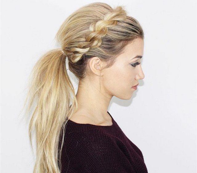 9 peinados sencillos para no ir siempre con el pelo suelto