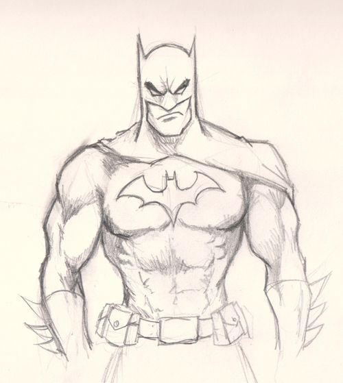How to draw Batman, Dark Knight step by step Video tutorial ...
