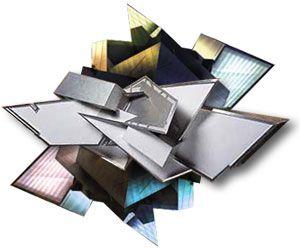 Daniel Libeskind collage