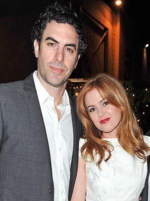 Sacha Baron Cohen and Isla Fisher Welcome Third Child -