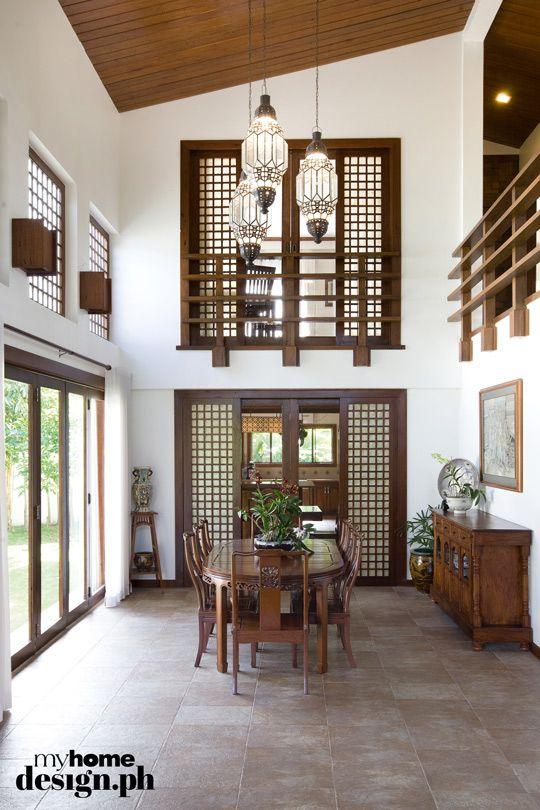 42 best bahay kubo interior exterior images on pinterest for Capiz window