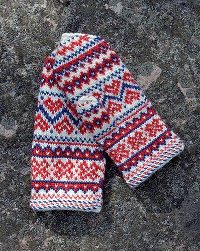 Ravelry: Enontekiön lapaset pattern by Anna-Karoliina Tetri