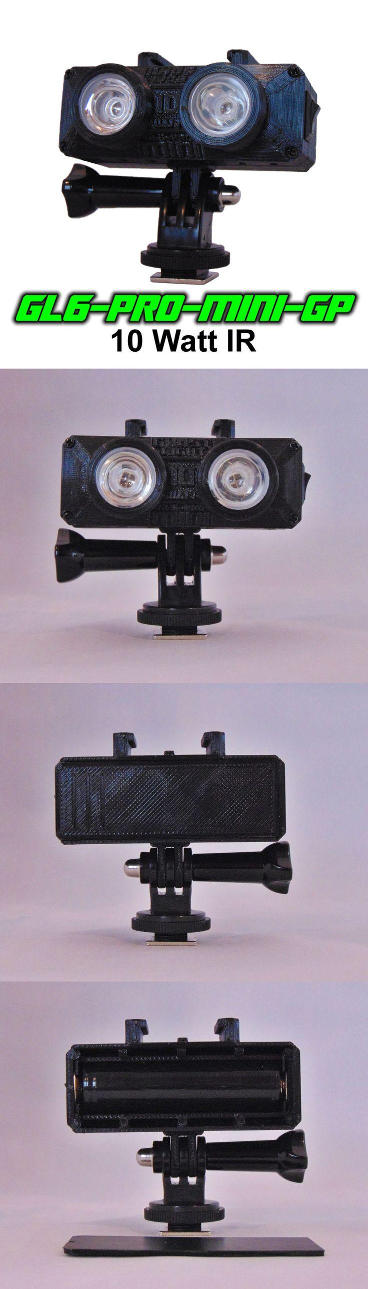 Surveillance Gadgets: Ghost Light™ Gl6-Pro-Mini-Gp 10 Watt Ir Led Light For Full Spectrum Camera Gopro -> BUY IT NOW ONLY: $99.95 on eBay!