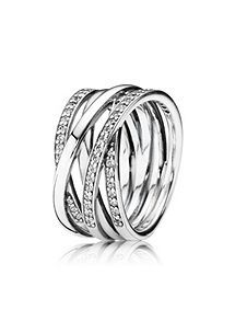 View product Pandora Entwining Silver Ring