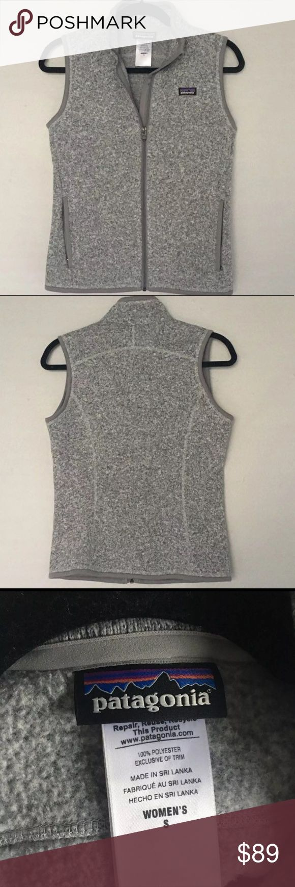 NWOT Patagonia Better Sweater Vest Never worn - women's size small- gray - firm price Patagonia Jackets & Coats Vests