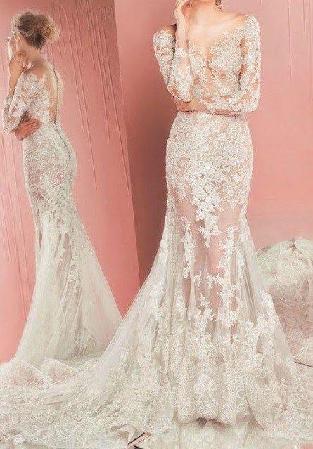Кружевные свадебные платья - стили и фасоны ----------------------------------------------------- Кружевные свадебные платья помогают выглядеть грациозно, элегантно, максимально женственно и эстетично. При этом сохраняют индивидуальность невесты.