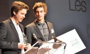 Les Fils de PUB, lauréats du concours catégorie Buzz!!!