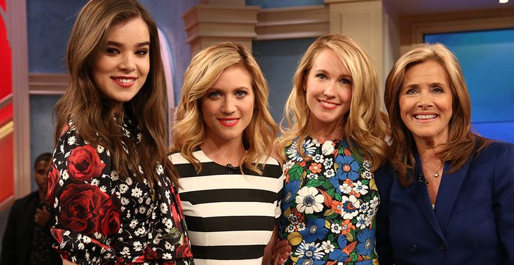 Pitch Perfect 2 Stars guests on Meredith Vieira show 5-20-15