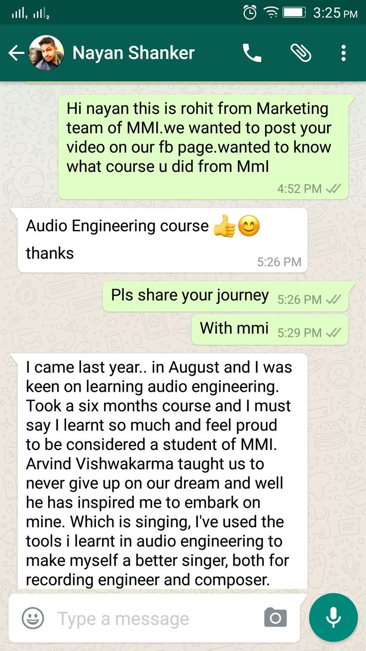 Appreciation can make a day....This made ours. Thanking Nayan Shankar for sharing these lovely words and wishing him all the Best!! #proudmoment