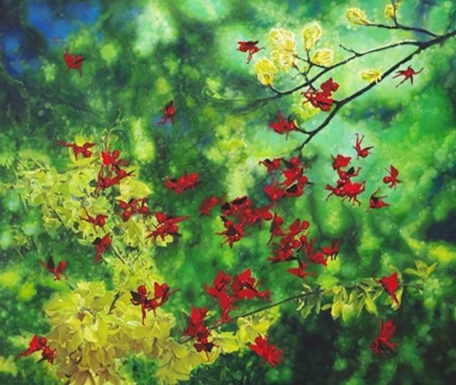 The Dream Garden: Contemporary Artists, Avant Garde Artists, Lifeng Dreams, Shy Lifeng, Gardens Shy, Chinese Artitst, Artnet Auction, Dreams Gardens, Asian Art