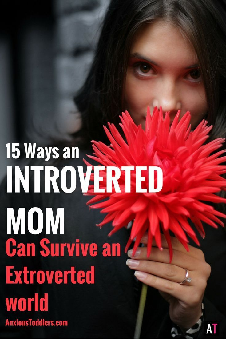 Are you an introverted mom? You are not alone. There are more of us out there than you might think. Here are 15 ways to thrive as an introverted mom!
